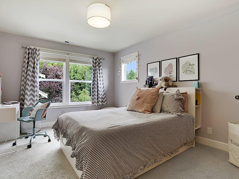 Second Jack and Jill bedroom.